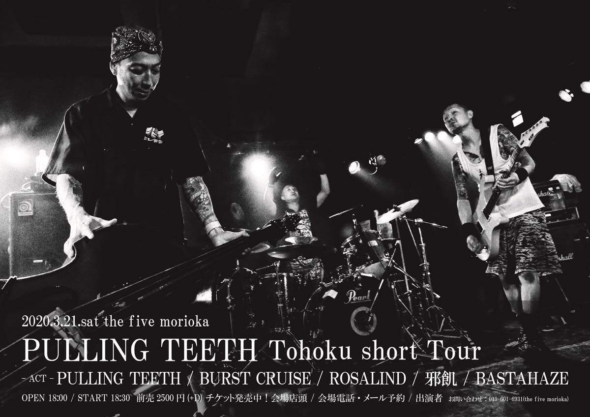 PULLING TEETH Tohoku short Tour